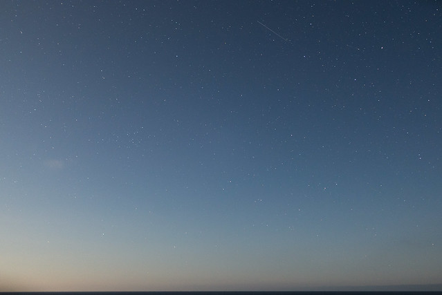 桃岩荘からの夜空