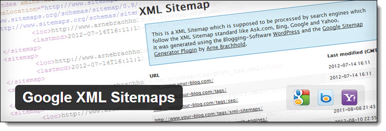 Highly recommended wordpress plugins - Google XML Sitemaps