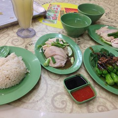 Hainanese Chicken Rice @ Ming Kee Chicken Rice Porridge