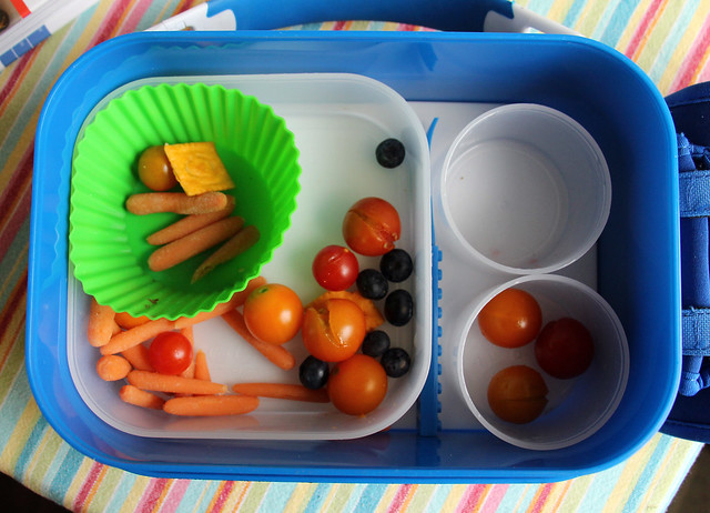 Colorful Preschooler Bento #486: What came home