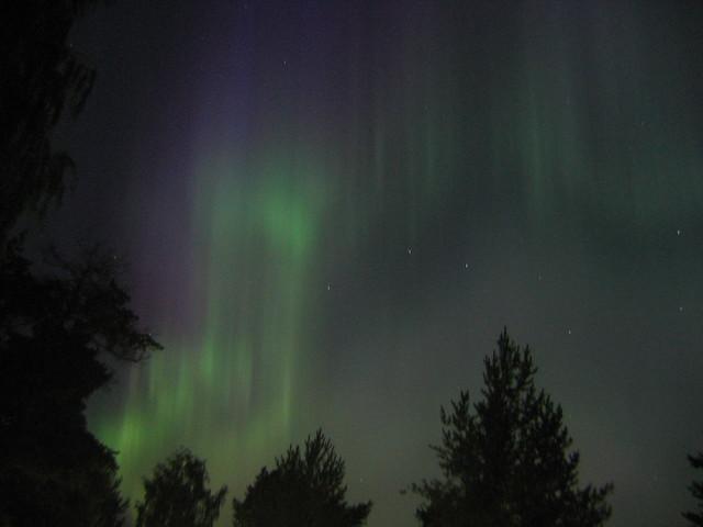Aurora Borealis en Joensuu