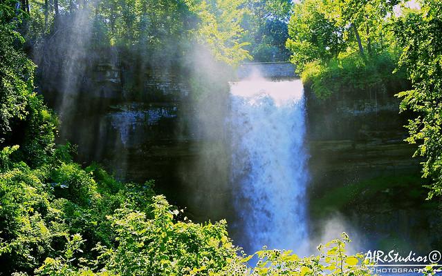 AIReStudios Photography: Cachoeira (Minnehaha Falls)