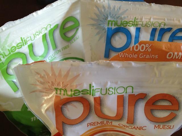 muesli fusion cereal