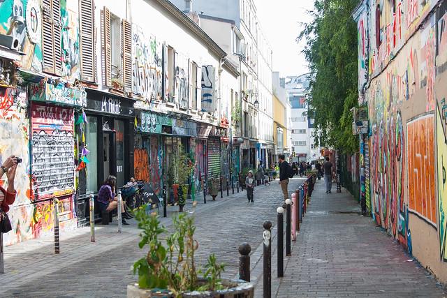 Rue Denoyez, Belleville