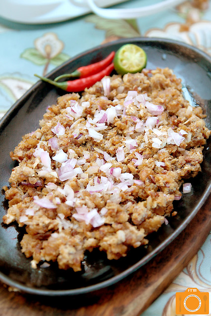 Dennis the Grill Boy Crispy Pork Sisig