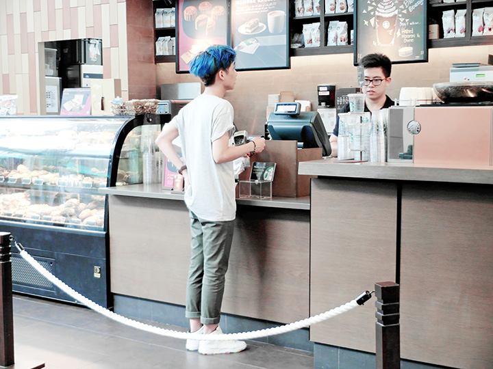typicalben buying starbucks