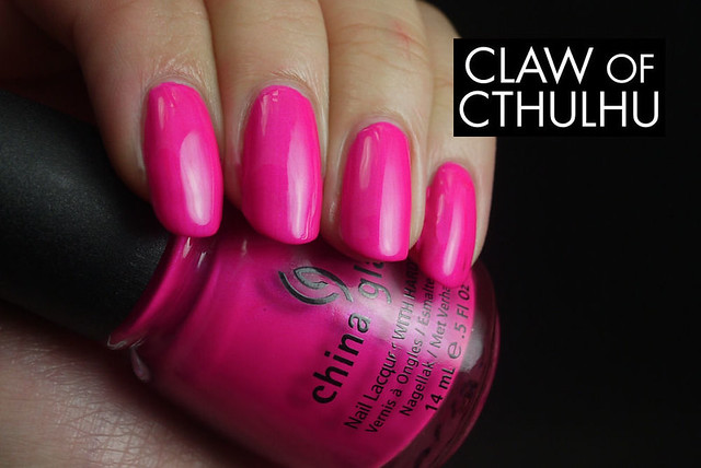China Glaze Purple Panic Swatch