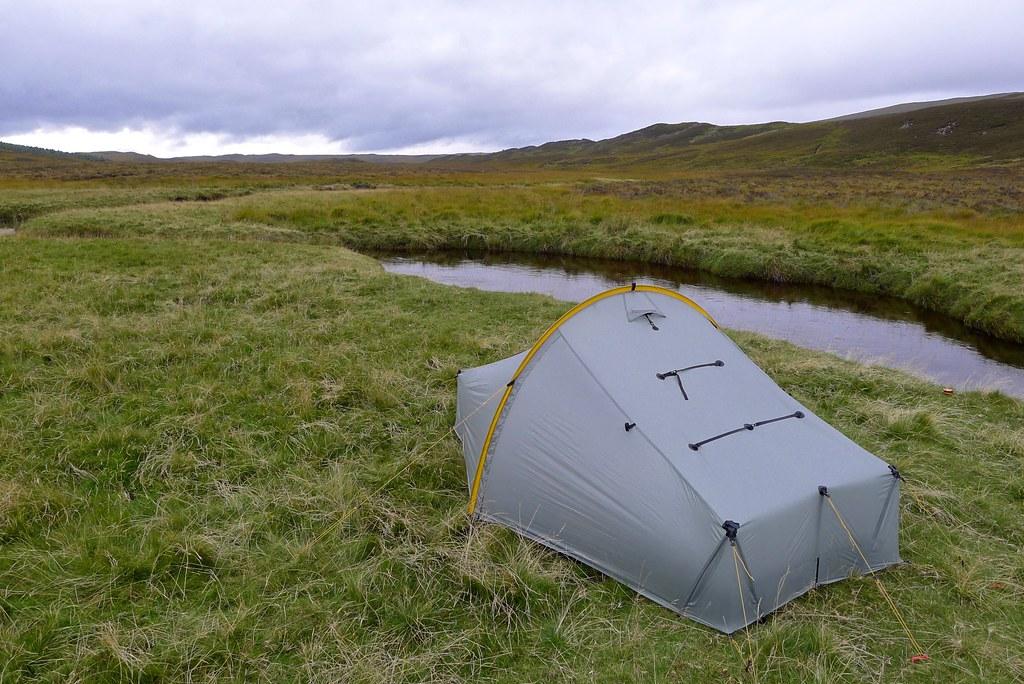 Camp by the Allt Ruighe nan Saorach