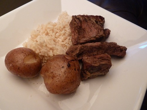 CrockPot Balsamic Pot Roast with Red Potatoes