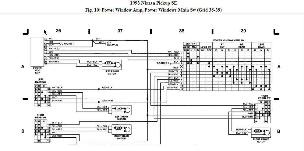 wiring diagram for nissan d21   29 wiring diagram images