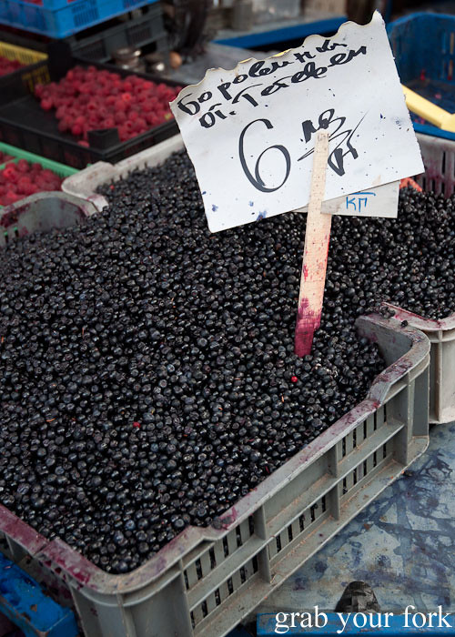 blackcurrants at Zhenski Pazar Jenski Pazar Women's Market Sofia