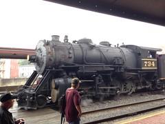 1916 Baldwin 2-8-0 Steam Engine, Western Maryland Scenic Railroad