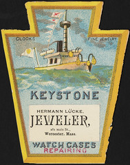 Keystone, clocks, fine jewelry, watch cases, repairing [front]