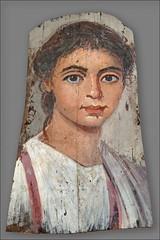 Portrait du Fayoum (Altes Museum, Berlin)