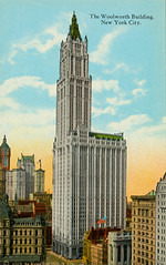 'The Woolworth Building, New York City' / postcard