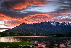Sunrise over The Remarkables, Queenstown, NZ (12)