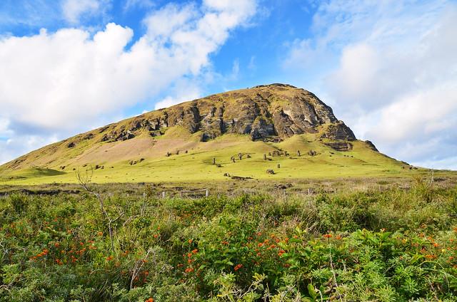 Rano Raraku - Sleeping Moai
