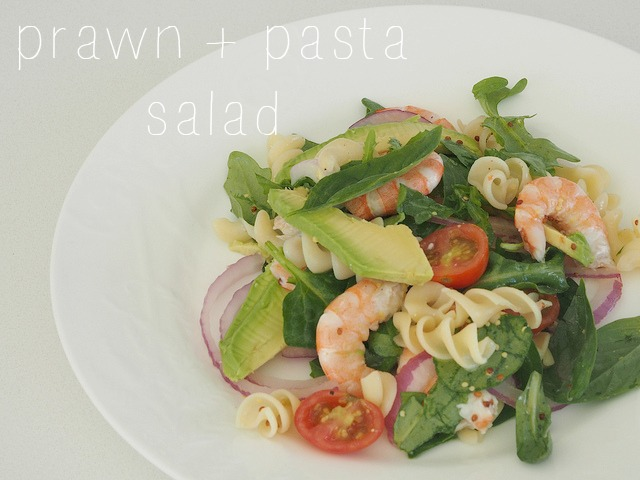 prawn pasta salad for christmas gluten free option