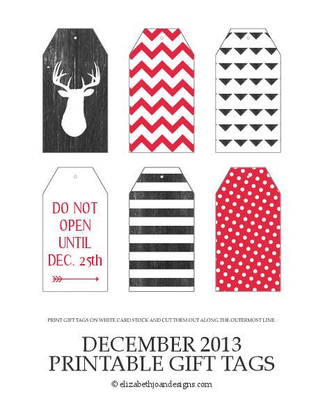 December 2013 Printables 4