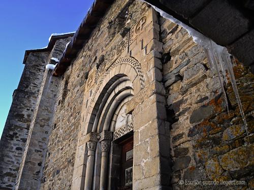 Una de las iglesias románicas que se puede encontrar en el Valle de Arán