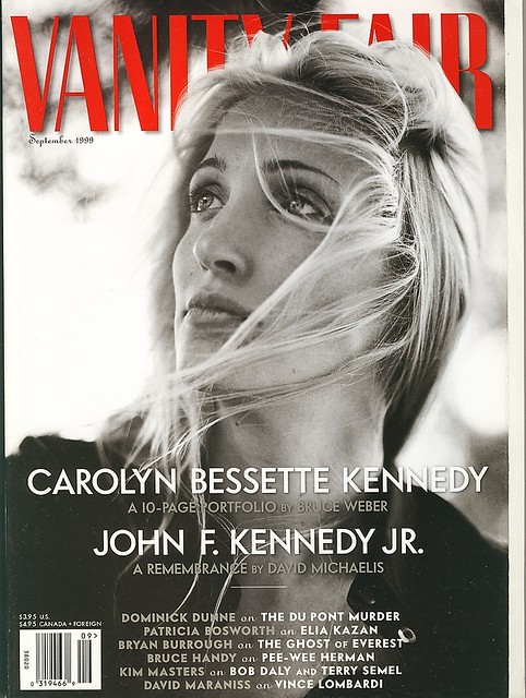 vanity fair september 1999 carolyn bessette