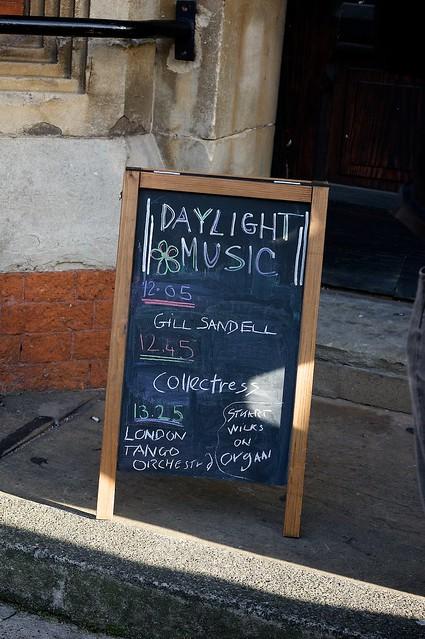 Daylight Music at the Union Chapel - November 30th