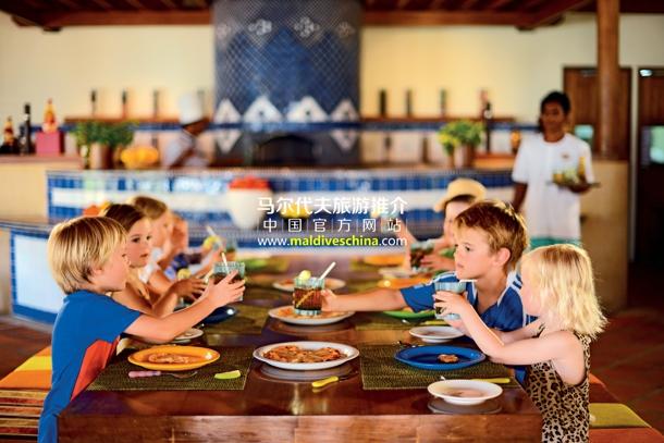 马尔代夫度假村饮食