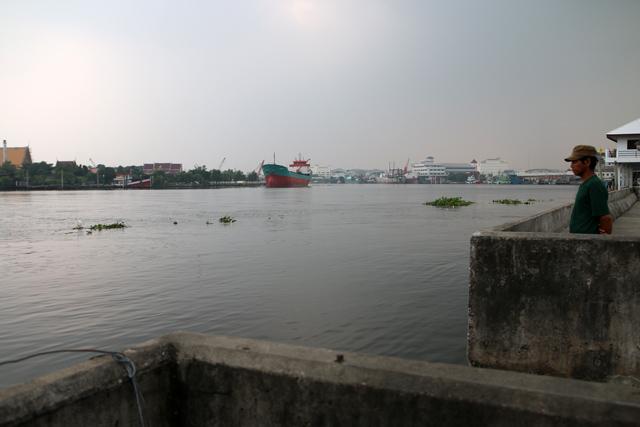 View of Mahachai, Thailand