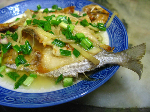 salted, sun dried, fish, recipe, steamed, 蒸南倉鹽鮮魚