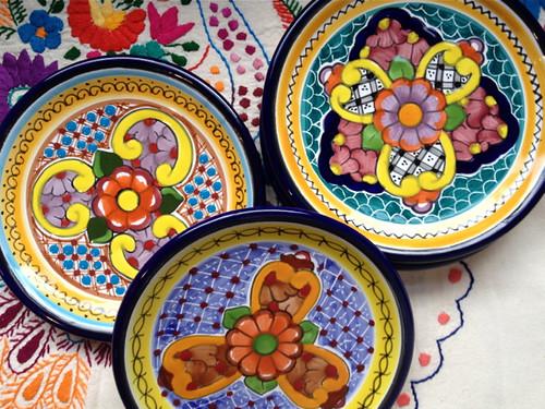 Puebla Talavera pottery