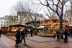 Christmas Market - Marche de Noel, Luxembourg 2013