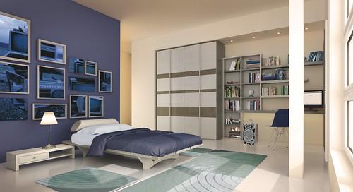 MAZZALI: teenager room, la cameretta by MAZZALIARMADI.IT