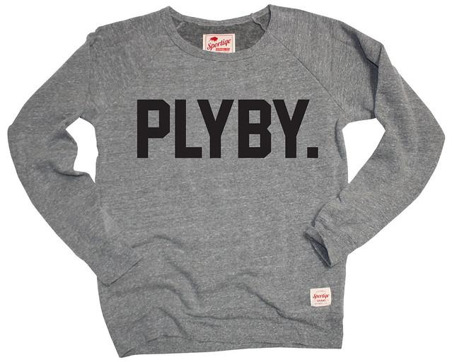 Sportiqe Playboy PLYBY BUTLER Sweatshirt - Gray