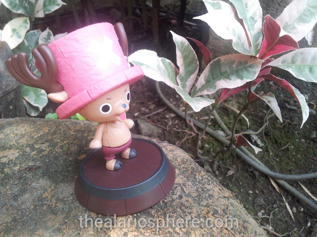 Tony-Chopper-One-Piece-3D-puzzle-garden