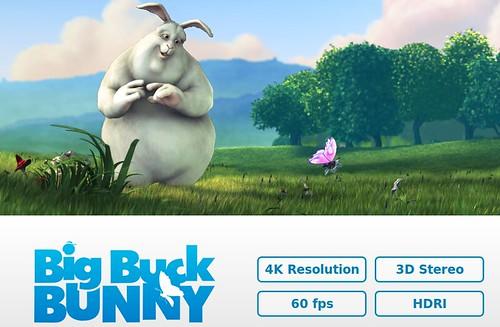 4K-ban a Big Buck Bunny
