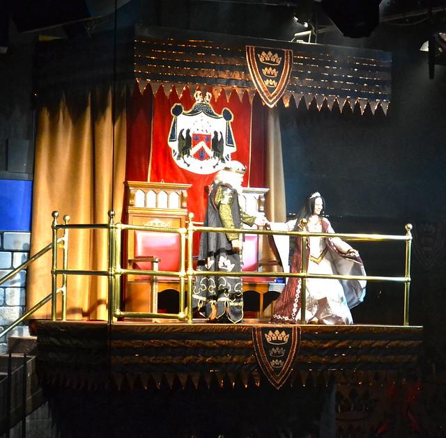 Medieval  Times Orlando Florida - King and Princess