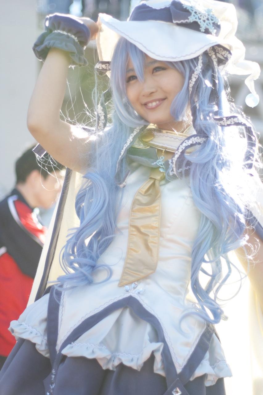 Yuki-Miku(Hatsune Miku:初音ミク)Cosplay -Comic Market 84-