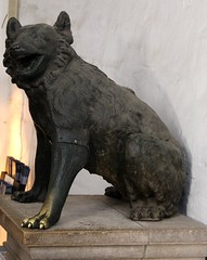 Bear Statue in Aachen Cathedral