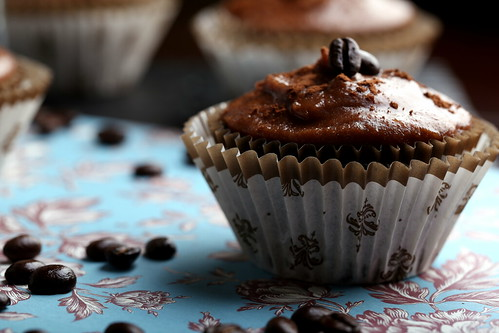 Mocha Italian Espresso Cupcakes
