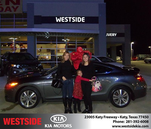 Happy Anniversary to Irma Mandala on your 2009 #Honda #Accord from Gilbert Guzman  and everyone at Westside Kia! #Anniversary by Westside KIA