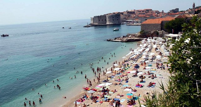 Dubrovnik praia