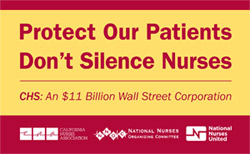 Greenbrier RNs Step up Campaign for Patient Safety