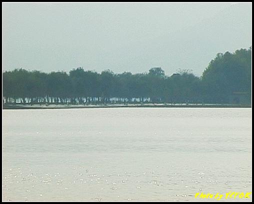 杭州 西湖 (其他景點) - 113 (從北山路湖畔看北裡湖及白堤)