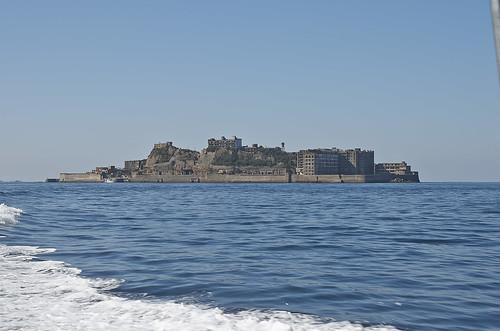 【写真】2014 離島めぐり : 軍艦島遠景・復路/2019-07-24/PICT5106