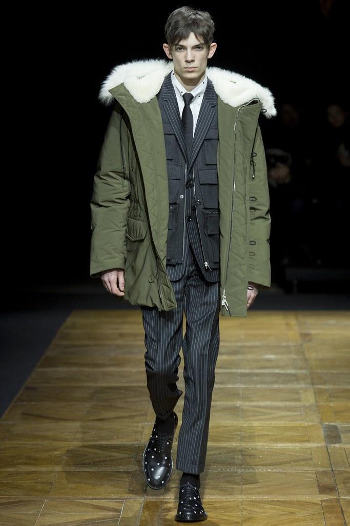 FW14 Paris Dior Homme022_Matthieu Gregoire(VOGUE)