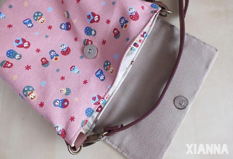 Pink matrioskas cross-body bag giveaway