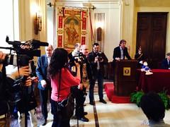 Anteprima #stramilano2014 le foto della presentazione ufficiale della corsa podistica più famosa d'Italia a palazzo marino sede del comune di milano