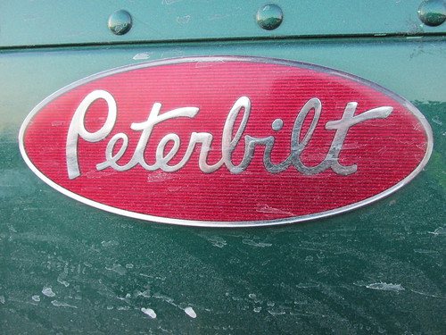 The Peterbilt trucks logo. by Eddie from Chicago