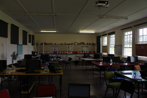 The training room we used