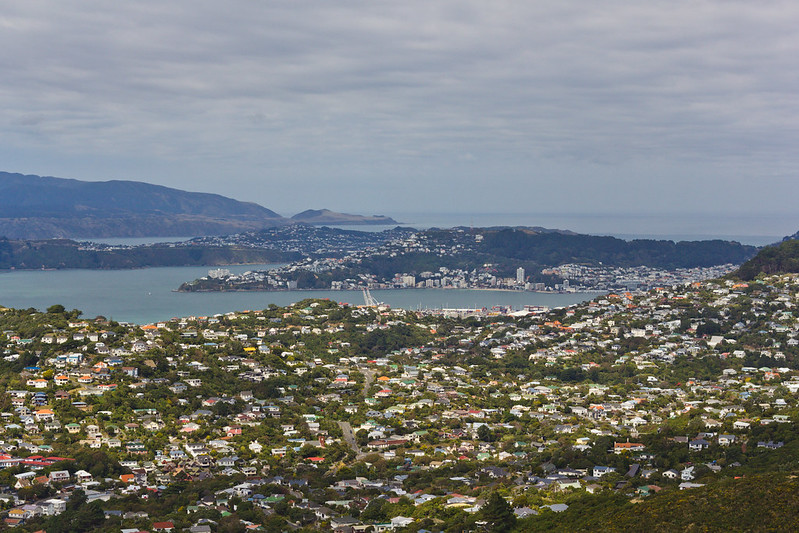 Saturday, March 8: With a hike through the Tongariro Crossing planned for the end of the month some training was needed! From Karori to Mt Kaukau where my usual training ground of Mt Vic looked like a tiny hill.